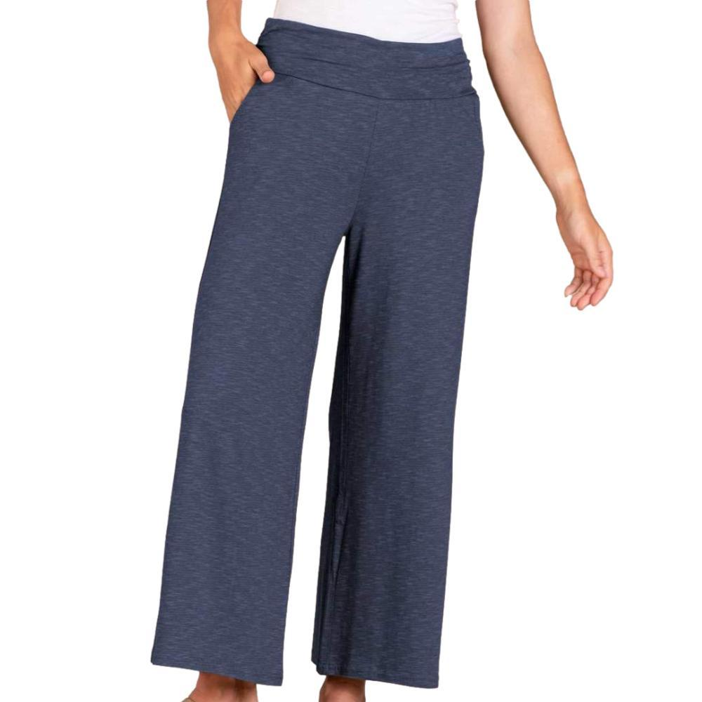 Toad&Co Women's Chaka Wide Leg Pull On Pants NAVY_414