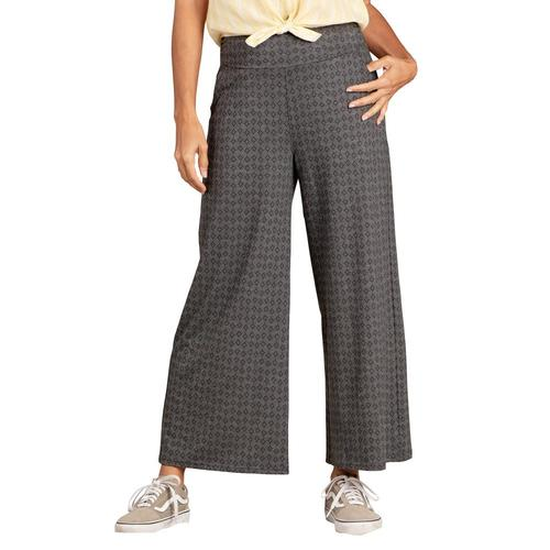 Toad&Co Women's Chaka Wide Leg Pull On Pants Sootprint_979