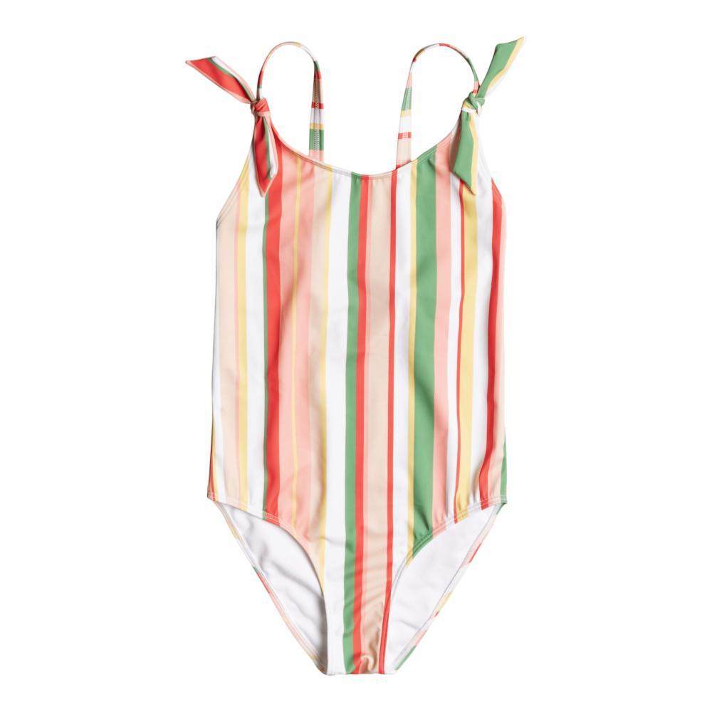 Roxy Girls Colorful Party One Piece Swimsuit GRNSTRP_GNL6