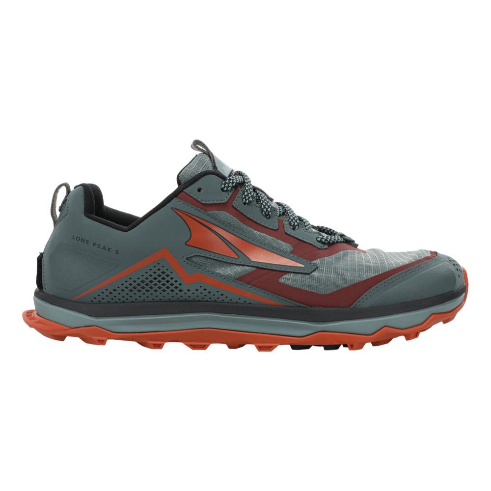 Altra Men's Lone Peak 5 Trail Running Shoes GRY.ORG_280