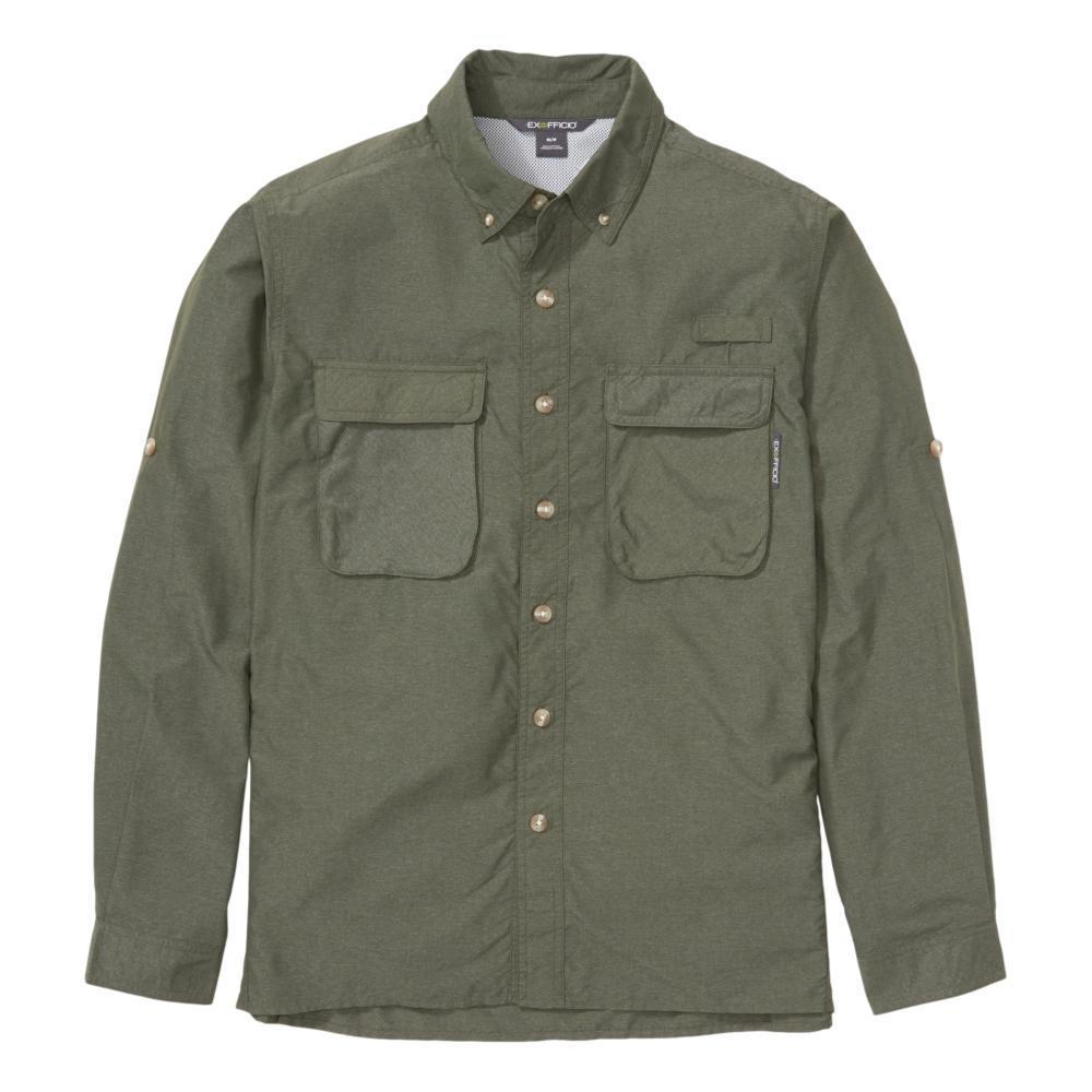 ExOfficio Men's Air Strip Long Sleeve Shirt CROC_8445