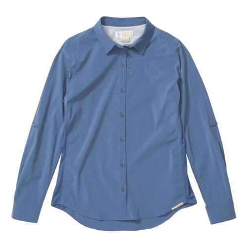 ExOfficio Women's BugsAway Rhyolite Long Sleeve Shirt Storm_5447