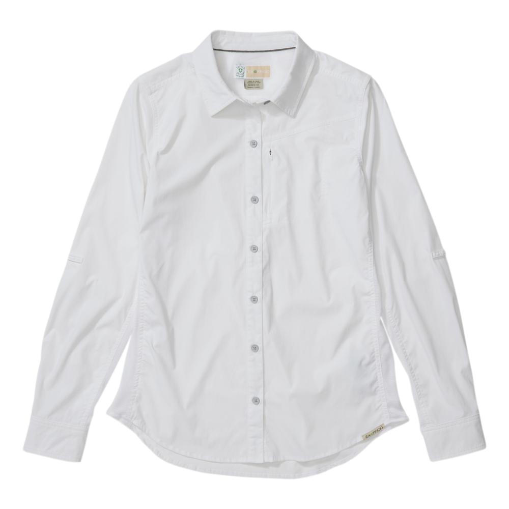 ExOfficio Women's BugsAway Rhyolite Long Sleeve Shirt WHITE_1000