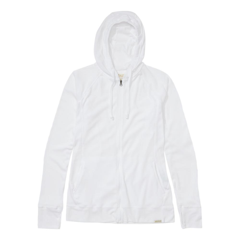 ExOfficio Women's BugsAway Lumen Full Zip Hoody WHITE_1000