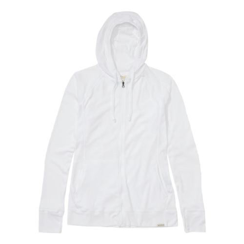 ExOfficio Women's BugsAway Lumen Full Zip Hoody White_1000