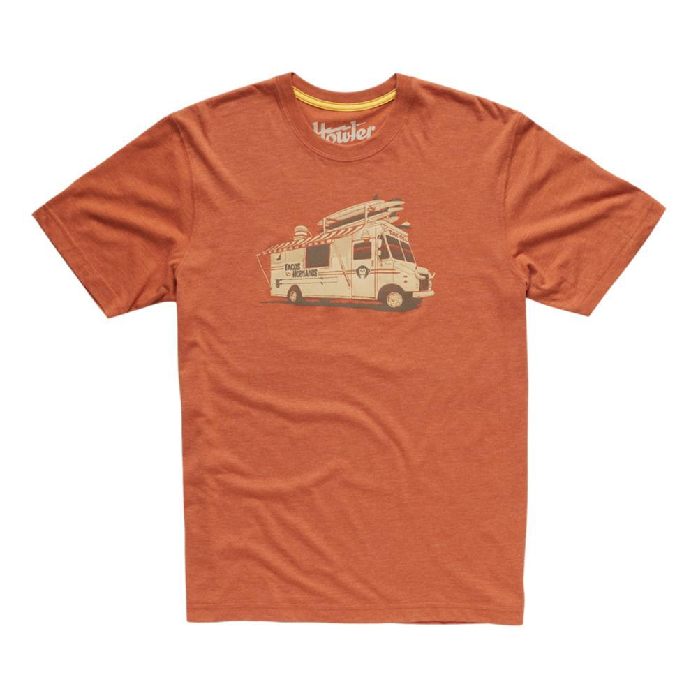 Howler Brothers Hermanos Tacos Tee RUST