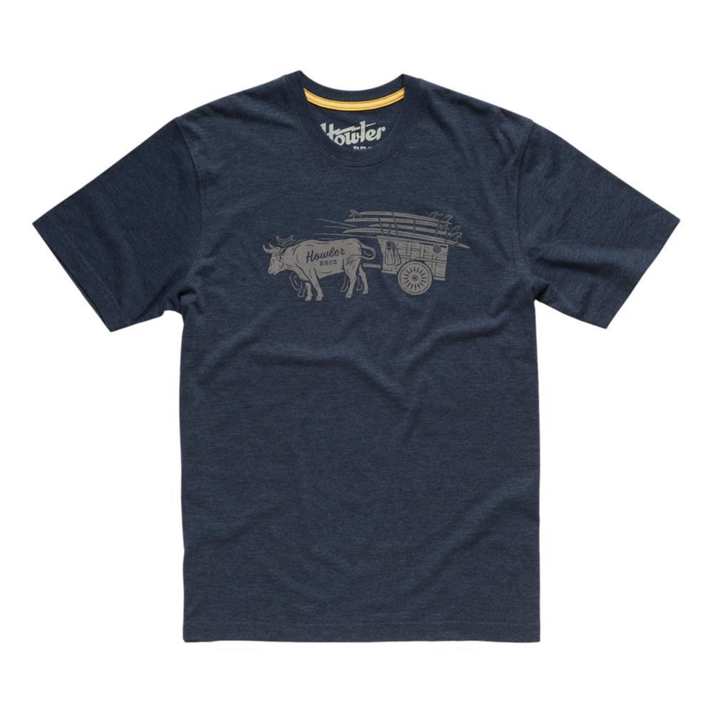 Howler Brothers Men's Oxcart Tee Shirt NAVY