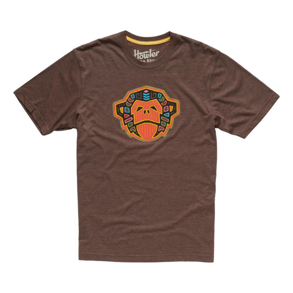 Howler Brothers Men's El Mono Mola Tee Shirt ESPRESSO