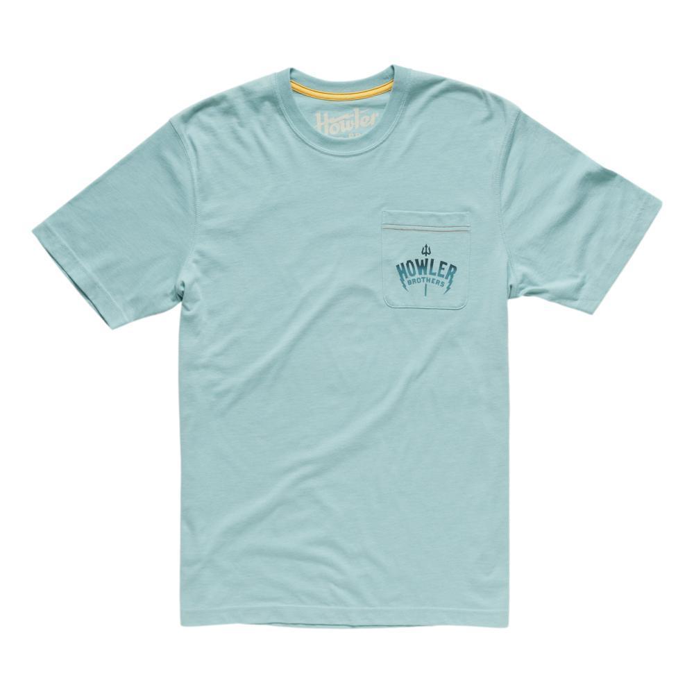 Howler Brothers Men's Eagle Ray Pocket Tee Shirt SEAFOAM