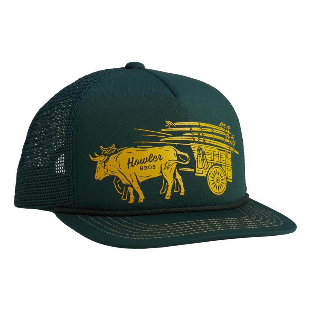 Howler Brothers Ox Cart Snapback Hat PINEGREEN