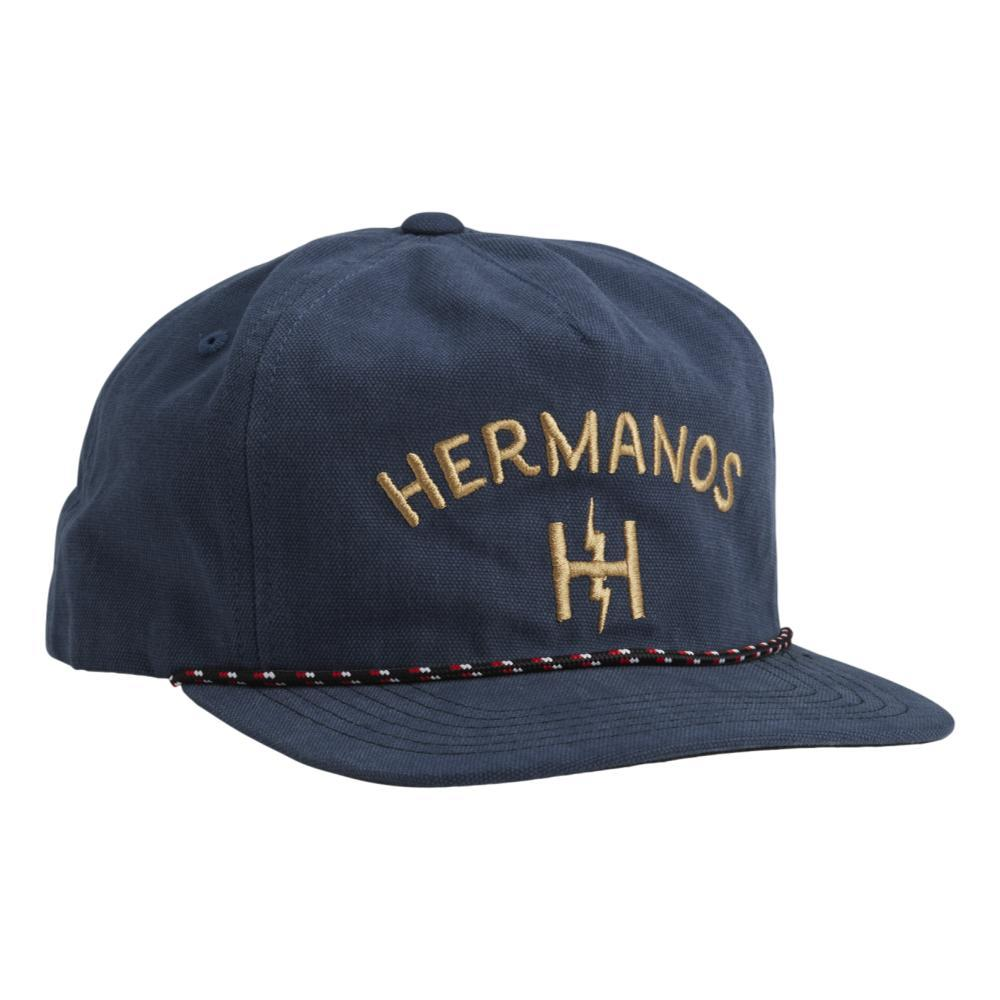Howler Brothers Hermanos Unstructured Snapback Hat PACIFCBLUE