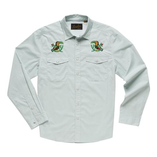 Howler Brothers Men's Gaucho Snapshirt Twocans_sea