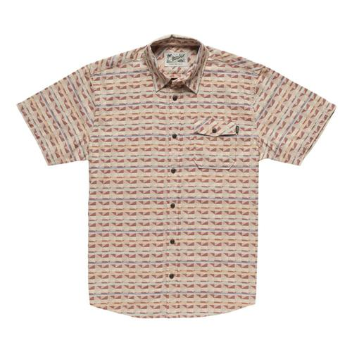 Howler Brothers Men's San Gabriel Short Sleeve Shirt Rusty_kkl