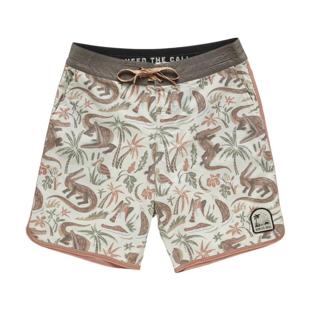 Howler Brothers Men's Bruja Stretch Boardshorts GATORS_OWG