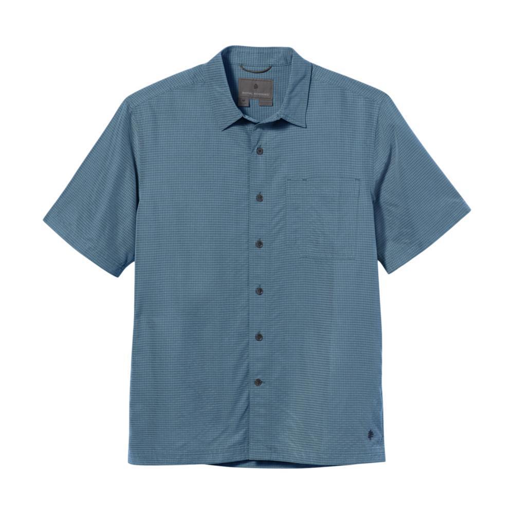 Royal Robbins Men's Desert Pucker Dry Short Sleeve Shirt COVE_746