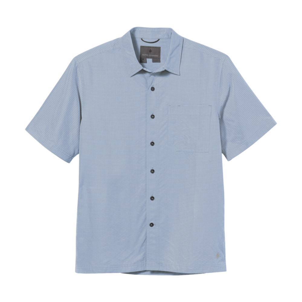Royal Robbins Men's Desert Pucker Dry Short Sleeve Shirt SKY_783