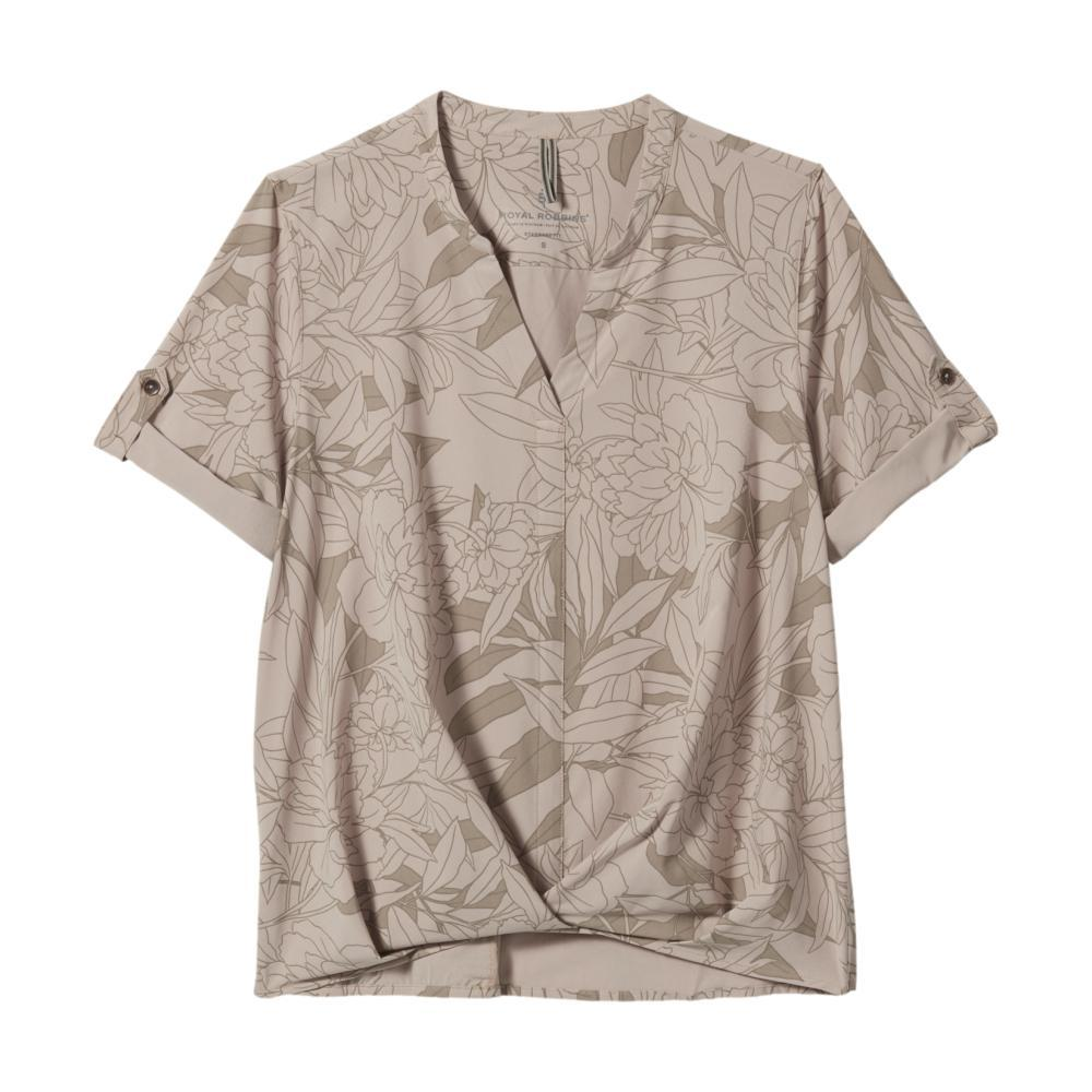 Royal Robbins Women's Spotless Traveler Short Sleeve Shirt SPHINX_563