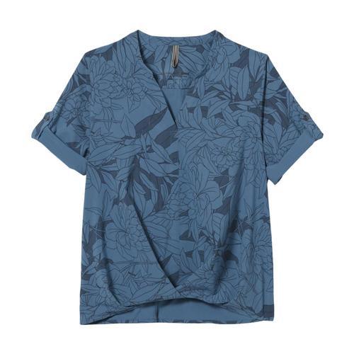 Royal Robbins Women's Spotless Traveler Short Sleeve Shirt Stellar_432