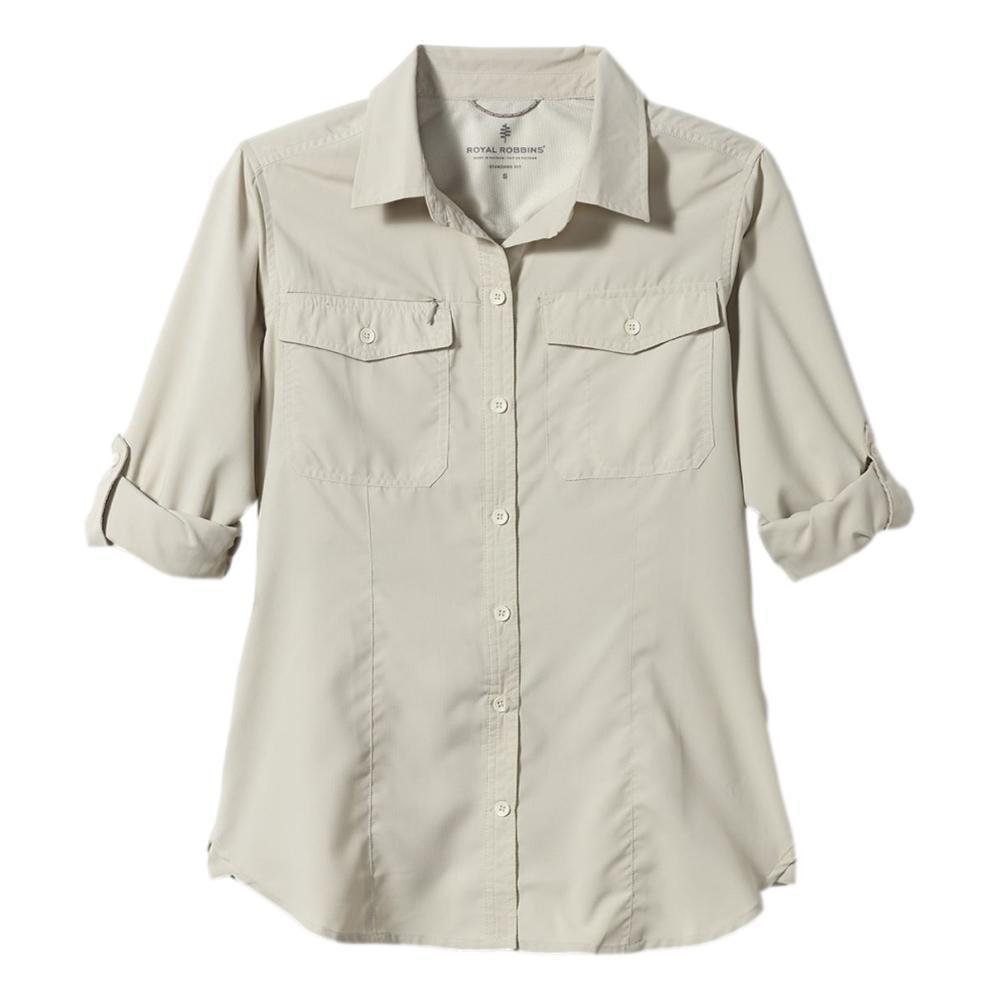 Royal Robbins Women's Expedition II Long Sleeve Shirt SOAPSTONE_151