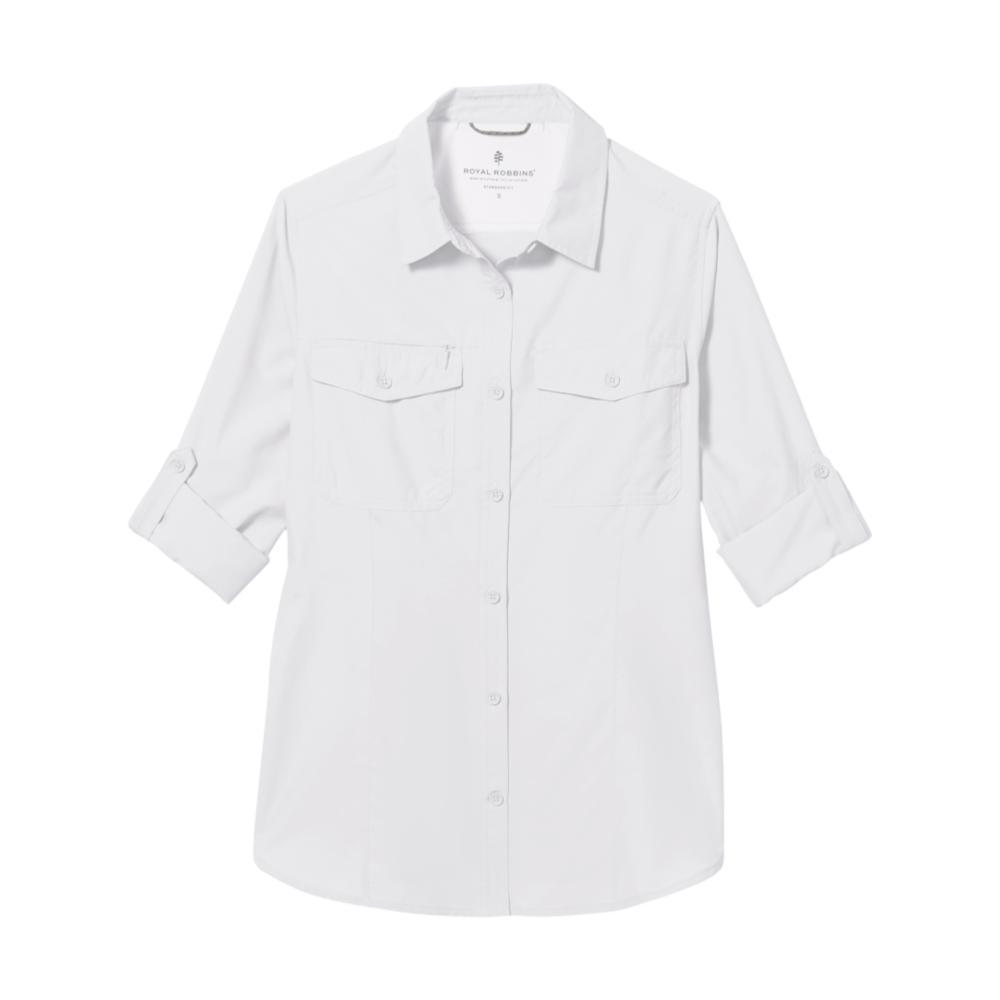 Royal Robbins Women's Expedition II Long Sleeve Shirt WHITE_10