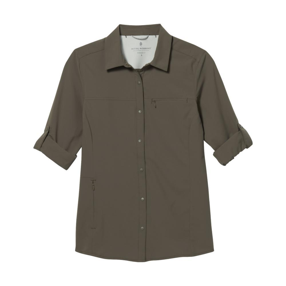 Royal Robbins Women's Expedition Pro Long Sleeve Shirt EVERGLADE_204