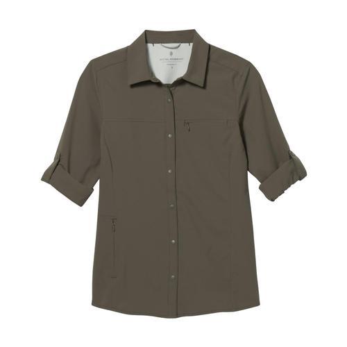 Royal Robbins Women's Expedition Pro Long Sleeve Shirt Everglade_204