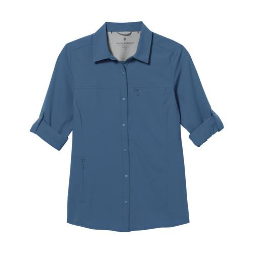 Royal Robbins Women's Expedition Pro Long Sleeve Shirt Stellar_622