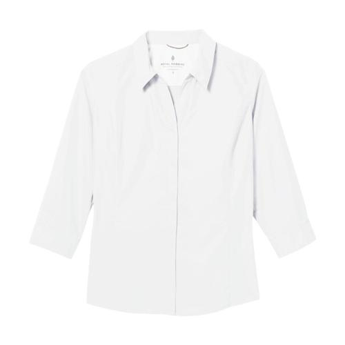 Royal Robbins Women's Expedition II 3/4 Sleeve Shirt White_10