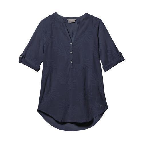 Royal Robbins Women's Oasis Tunic II 3/4 Sleeve Navy_728