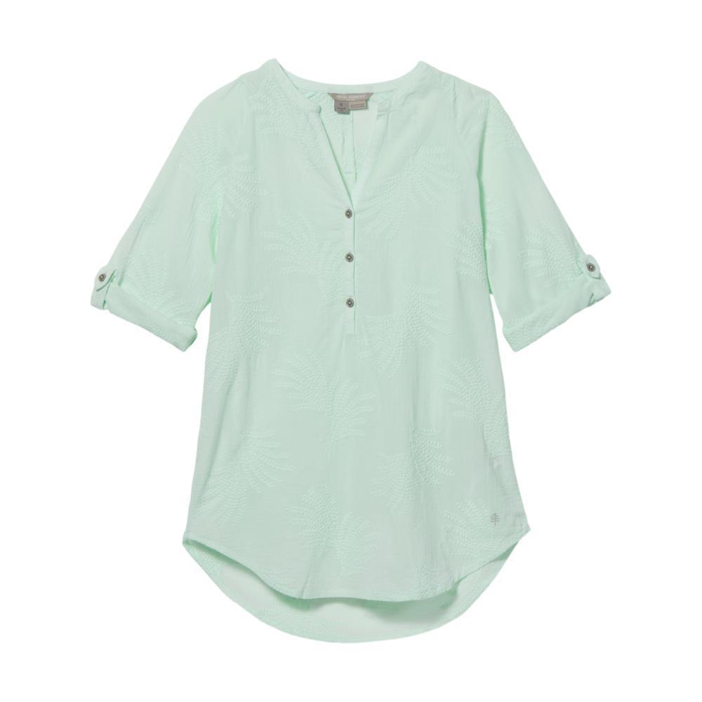 Royal Robbins Women's Oasis Tunic II 3/4 Sleeve SEAGLASS_333