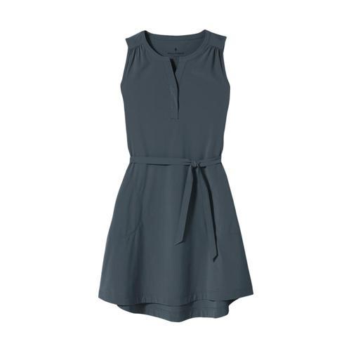 Royal Robbins Women's Spotless Traveler Tank Dress Slate_696