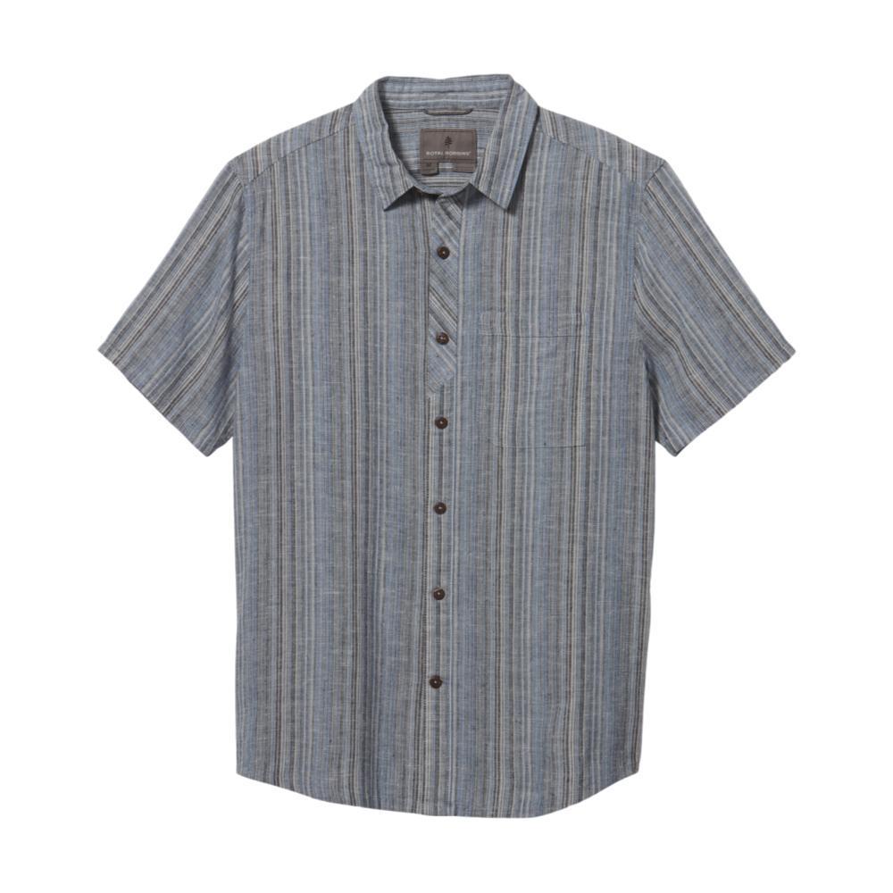 Royal Robbins Men's Hempline Vertical Short Sleeve Shirt NAVAL_150