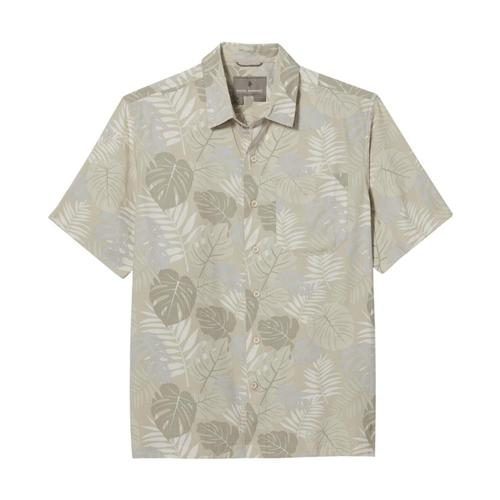 Royal Robbins Men's Comino Leaf Short Sleeve Shirt Sandpt_281