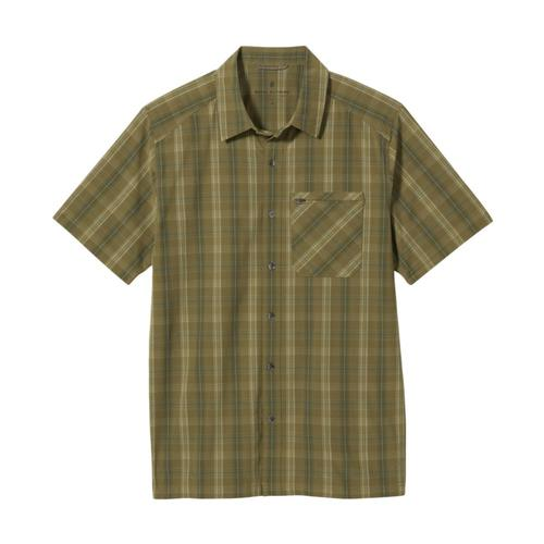 Royal Robbins Men's Spotless Plaid Short Sleeve Shirt Lizard_605