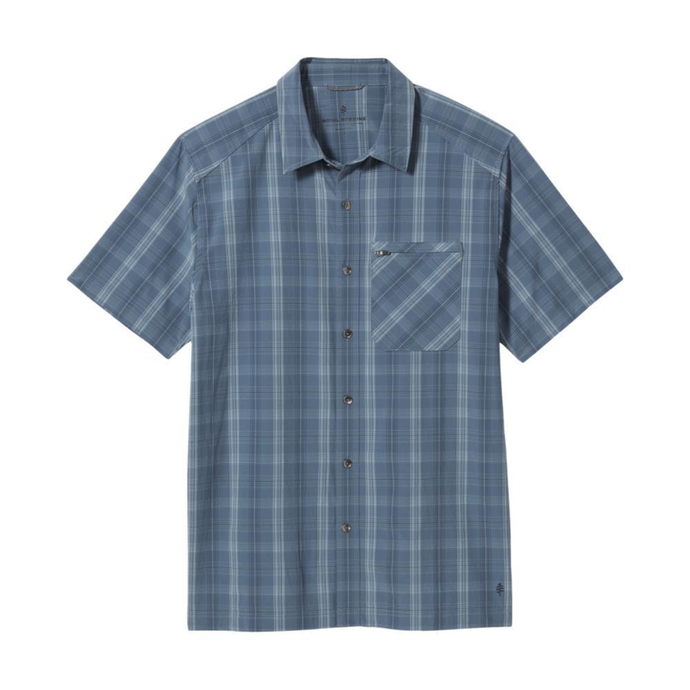 Royal Robbins Men's Spotless Plaid Short Sleeve Shirt SEA_762