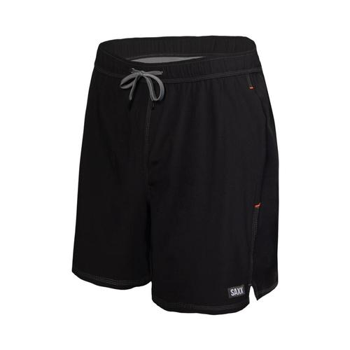 Saxx Men's Oh Buoy 2N1 Swim Shorts - 7in Black_blk