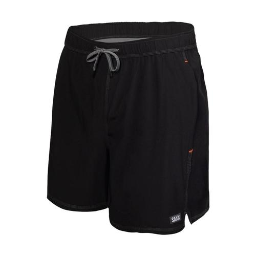Saxx Men's Oh Buoy 2N1 Swim Shorts - 5in Black_blk