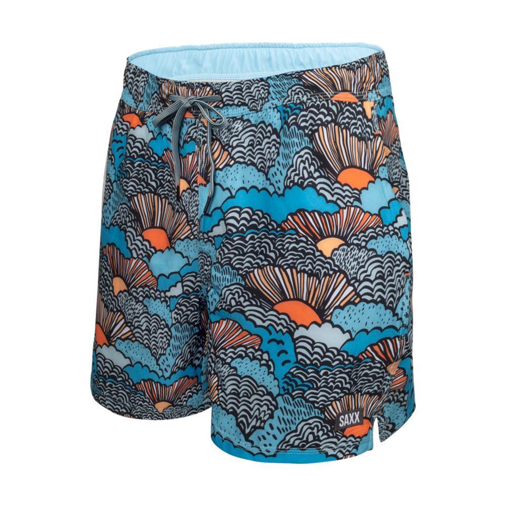Saxx Men's Oh Buoy 2N1 Swim Shorts - 5in BLUE_SBB