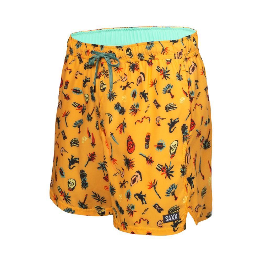 Saxx Men's Oh Buoy 2N1 Swim Shorts - 5in YELLOW_YRM