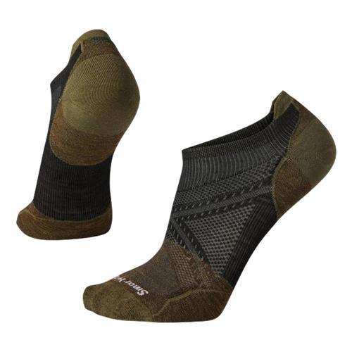 Smartwool Unisex PhD Cycle Ultra Light Pattern Micro Socks Black_001