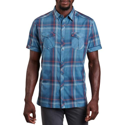 KUHL Men's Response Shirt Blue_balt