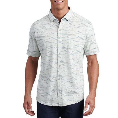 KUHL Men's Innovatr Horizon Print Shirt Cloud_cldg