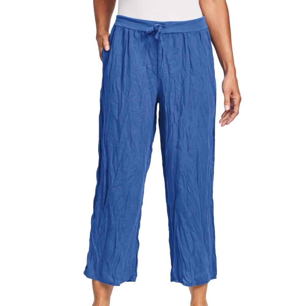 FLAX Women's Renewed Flood Pants COBALT