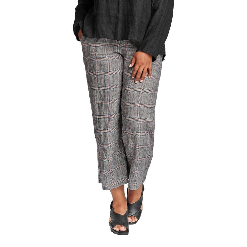 FLAX Women's Renewed Flood Pants PLAID