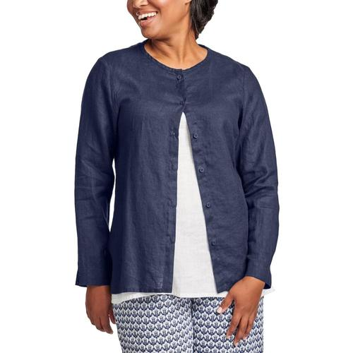 FLAX Women's Dis-Cover Shirt Navy