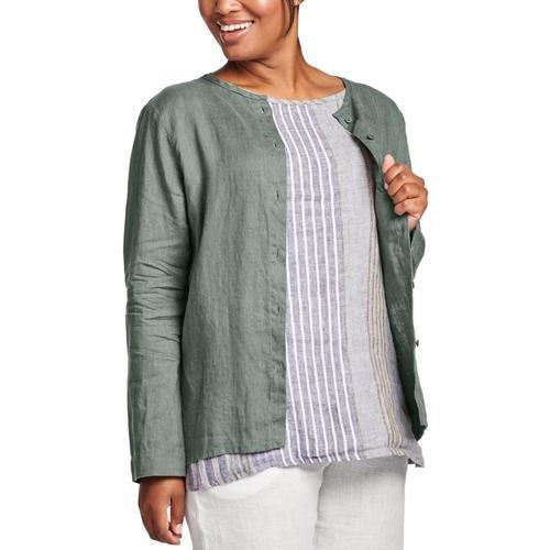 FLAX Women's Dis-Cover Shirt Thyme