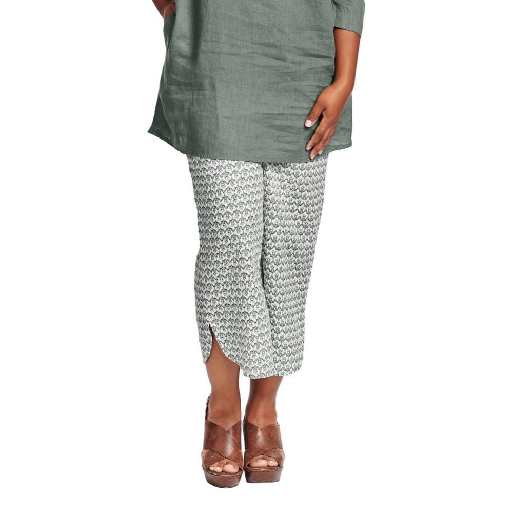 FLAX Women's Shirttail Flood Pants THYMEREGAL