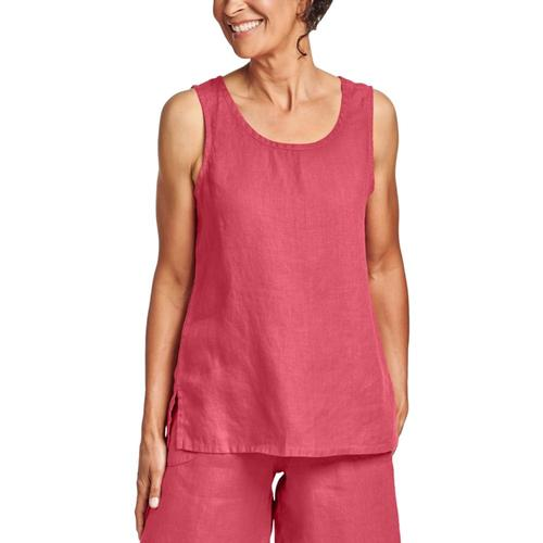 FLAX Women's Fundamental Tank Rhubarb