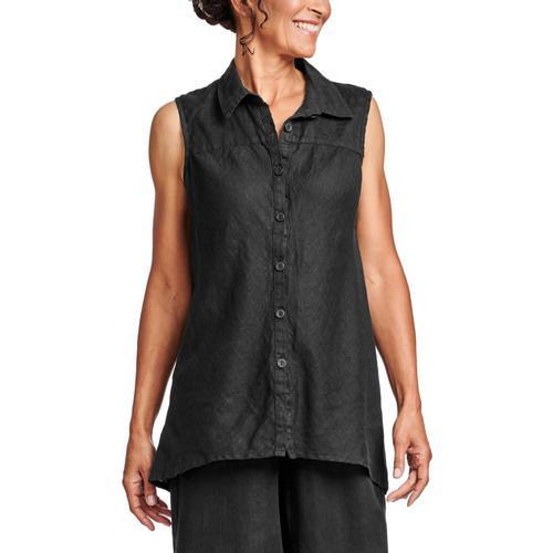 FLAX Women's Skyline Blouse Black