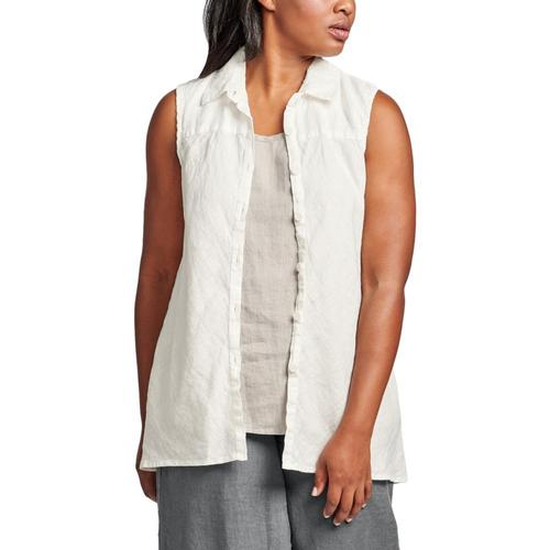 FLAX Women's Skyline Blouse Cream